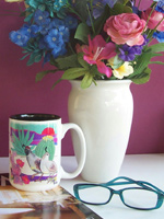 Ceramic Mugs - Southwest Art by Gale Tuoti